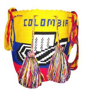 Mochila wayuu grande colores